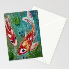 Koi Pond 2 Stationery Cards