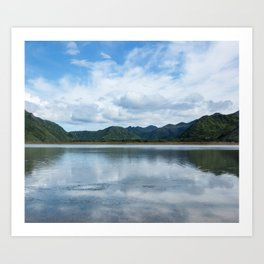Cloud Reflections Photography Print Art Print