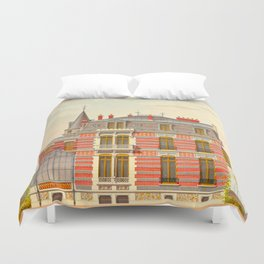 Brick constructions; ordinary brick from a decorative point of view - J. Lacroux and C. Détain - 187 Duvet Cover