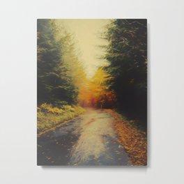Grove in autumn Metal Print