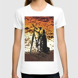 Chilling by the river T-shirt