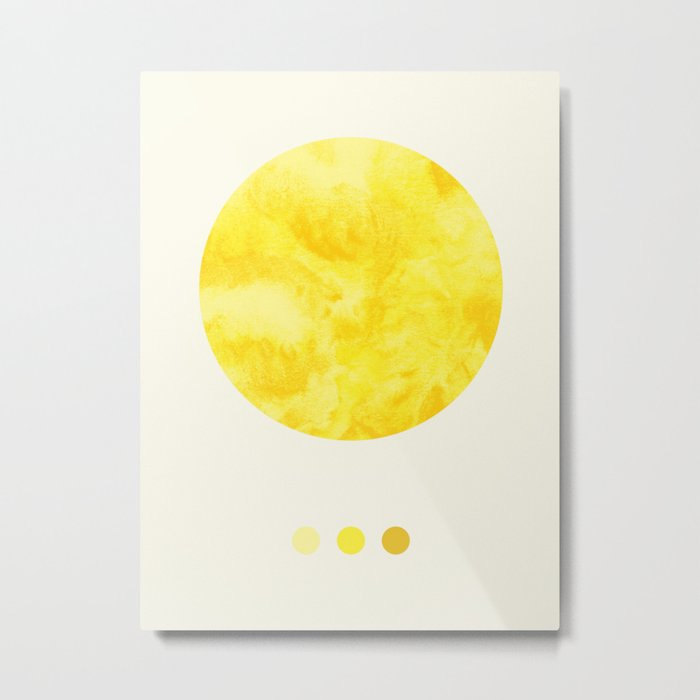 Colours of the Sun Metal Print