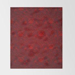 Victorian Blood Throw Blanket