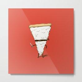 Slice! Metal Print