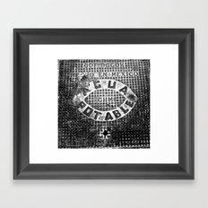 Alcantarilla DF Framed Art Print