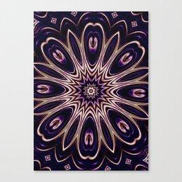 iDeal - Purp Flower Canvas Print