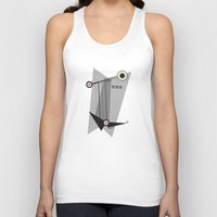 kandinsky Tank Tops featuring Black Is by Amy Newhouse