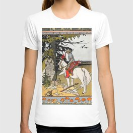 Rider By The Grave By Ivan Biblin T-shirt