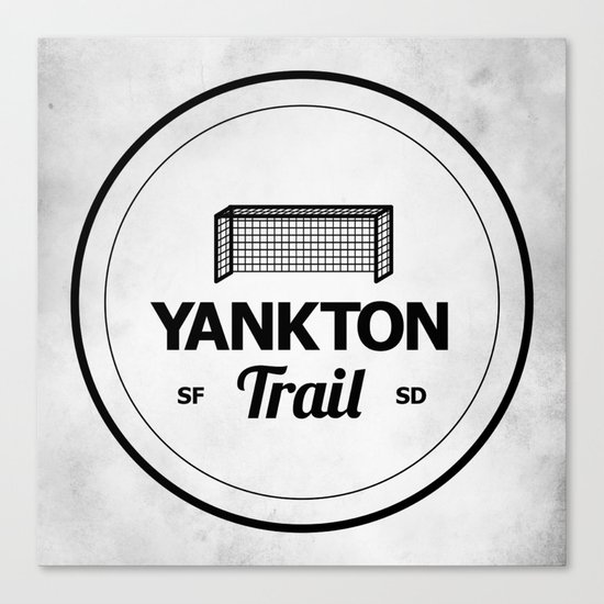 Yankton Trail Canvas Print