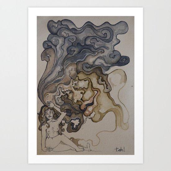 wanna smoke? Art Print