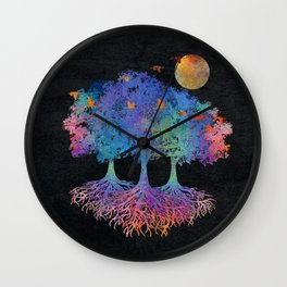 My Colorful Nature Wall Clock
