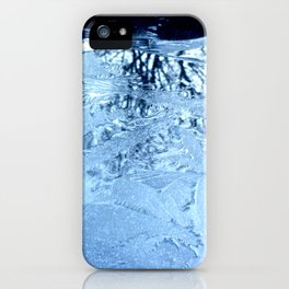 ice flowers iPhone Case