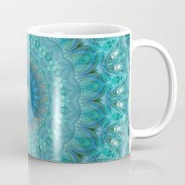 Mandala luminous Opal Coffee Mug