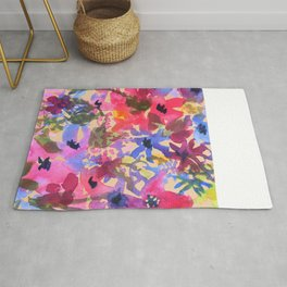 Wildflower Bunches Rug