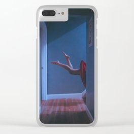 there's a light in the attic Clear iPhone Case