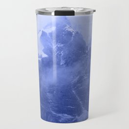 Rocky Mountain Fog Blue Travel Mug