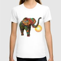 whale T-shirts featuring Elephant's Dream by Waelad Akadan