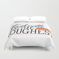 nashville Duvet Covers featuring Nashville was the Roughest by Tony Pierce