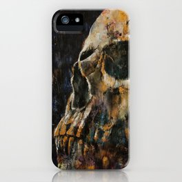 Gold Skull iPhone Case