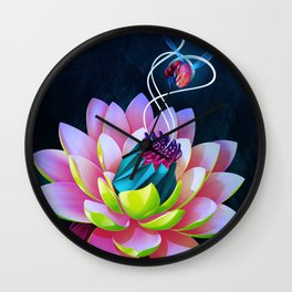 Botanica II Wall Clock