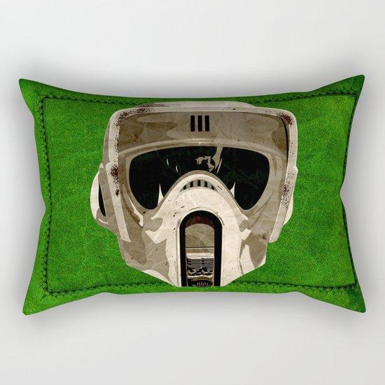 A Scout's Woodland Handbook Rectangular Pillow