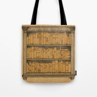 doors Tote Bags featuring Many Doors by Megs stuff