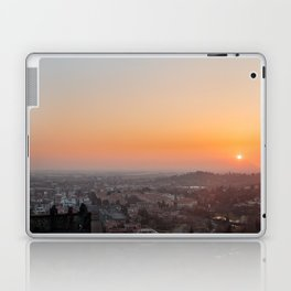 colorful sunset in Bergamo Laptop & iPad Skin