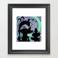 Who are you? Framed Art Print