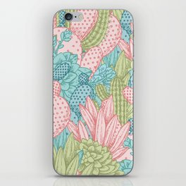 Pastel Cacti Obsession #society6 iPhone Skin
