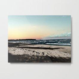 SunSet At My Beach Metal Print