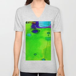 Magical Thinking No. 2M by Kathy Morton Stanion Unisex V-Neck