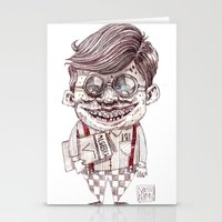 nerd Stationery Cards featuring NERD by Masss Petrone