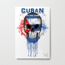 To The Core Collection: Cuba Metal Print