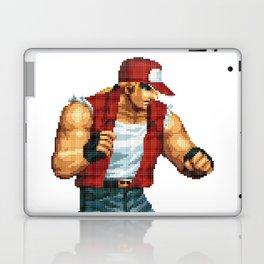 Terry Bogard pixel art Retrogaming Laptop & iPad Skin