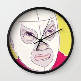 El Santo Wall Clock