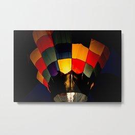 Fire Balloon Metal Print