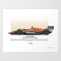 #9 LOLA - 1993 - T9300 - Boesel Art Print