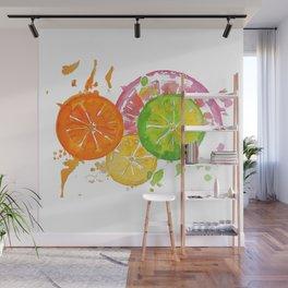 Citrus Burst! Wall Mural