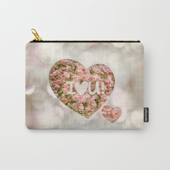 VALENTINE'S DAY ROSES Carry-All Pouch