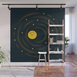 Moon And Stars Dream Wall Mural