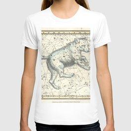 Celestial Atlas Plate 6 Alexander Jamieson, Ursa Major Big Dipper T-shirt