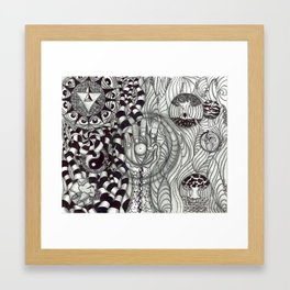 Transmutate Framed Art Print