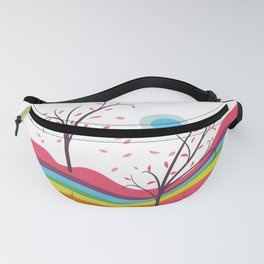 Dreamscape - Autumn On Alien Planet Fanny Pack