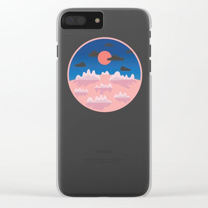 Sundown Clear iPhone Case