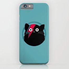 Cat Bowie iPhone Case