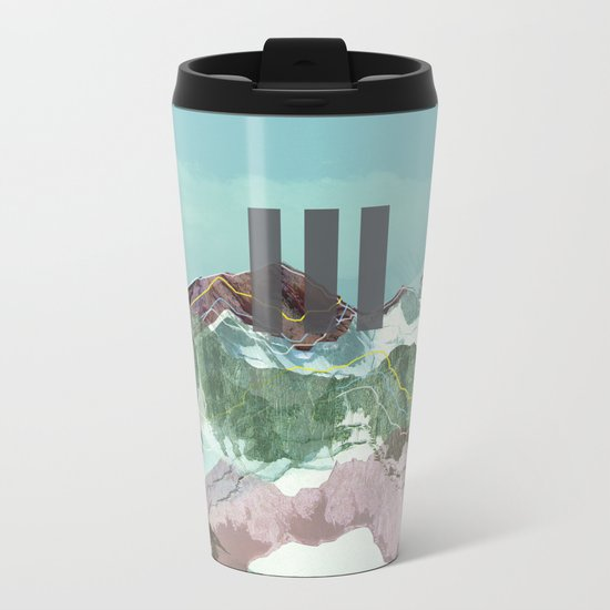 another abstract dream 3 Metal Travel Mug