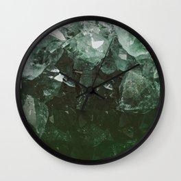 Emerald Gem Wall Clock