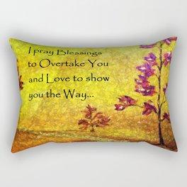 Blessings over You Rectangular Pillow
