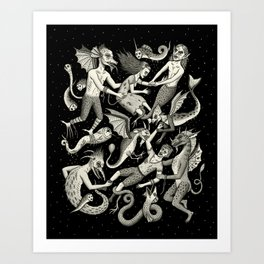 Ravished Art Print
