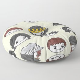 Some More Plushie Richies Floor Pillow